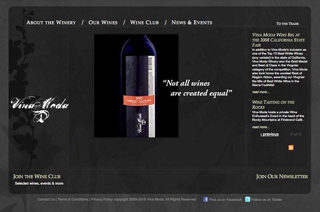 Vina Moda Website