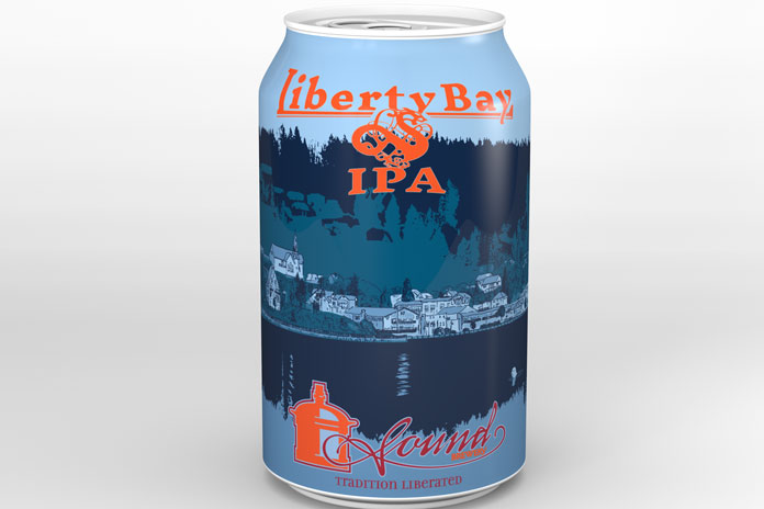 liberty bay beer can