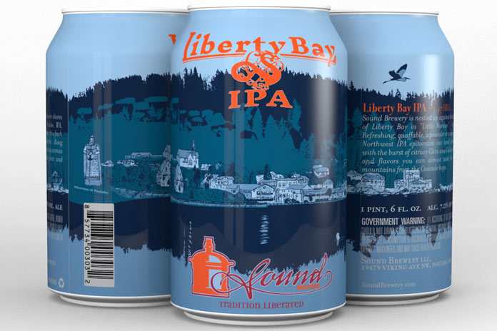liberty bay beer cans